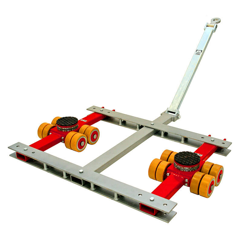 See our selection of heavy load moving dollies to transport heavy equipment.