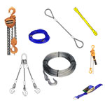 Rigging.com carries a large selection of rigging and load moving equipment.