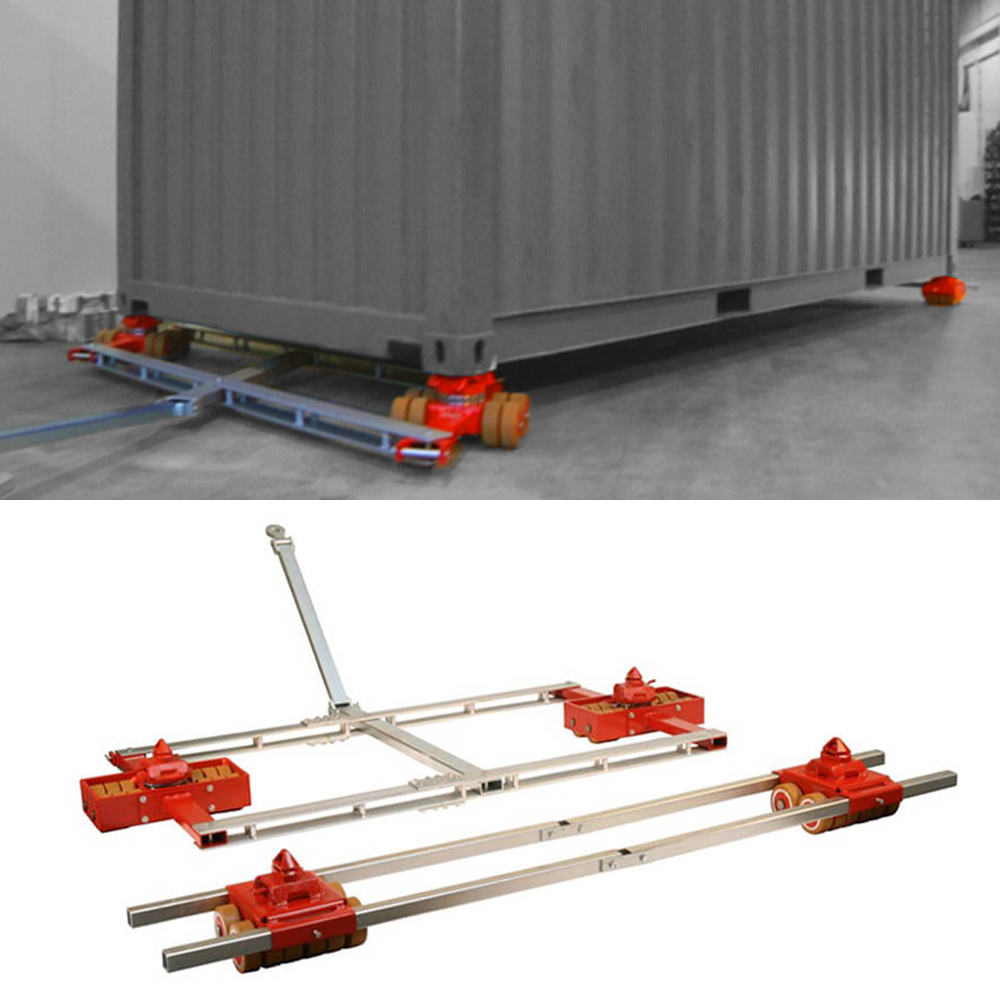 Toolwell's selection of JUNG load moving equipment includes freight container dollies, shipping container skates and ISO container dollies.